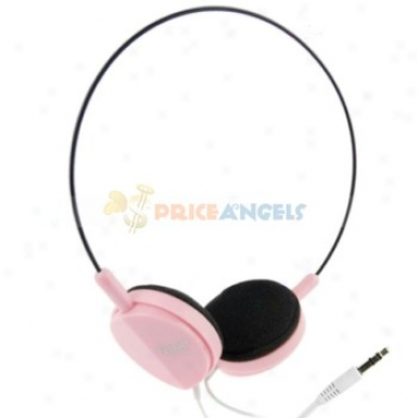 Feinier Fe-v26 Agreement On-ear Stereo Headset Headphone(pink)