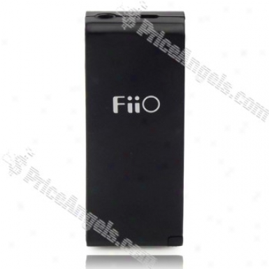 Fiio E3 3.5mm Earphone Volume Booster Authority Amplifier(black)