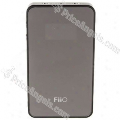 Fiio E7 1.1-inch Oled Usb Dac 3.5mm Earphone Volume Booster Power Amplifier (black)