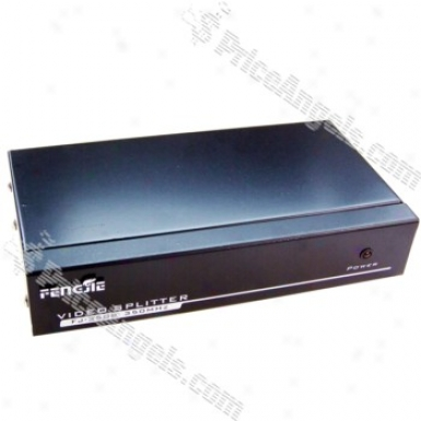 Fj-3508 350nhz 1-in / 8-out High Resolution Vga Amplified Video Splitter Box
