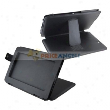 Full Protective Leather Case Cover With Stnad For 10-inch Tablet Pc(black)