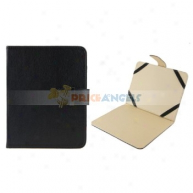 Full Protective Leather Case Cover With Stand For 8-inch Tablet Pc(black)