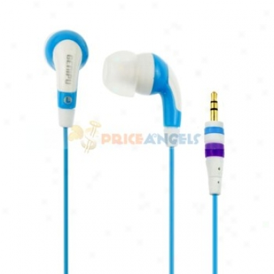 Genipu Gnp-55 In-ear Stereo Music Earphone(blue)