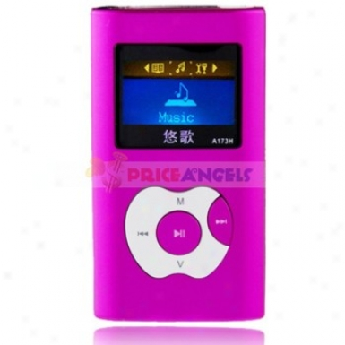 Godn A173h 2gb 1.4-inch Scren Stereo Mp3 Player With Speaker(purple)