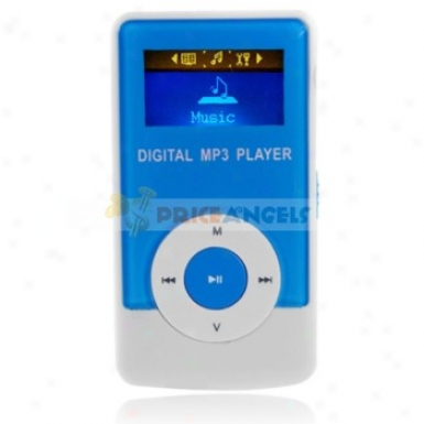 Godn G33 2gb 1.1-inch Screen Stereo Mp3 Player With Speaker(blue)