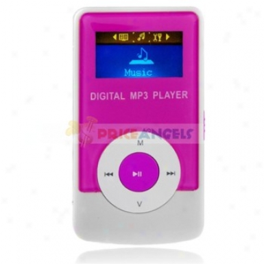 Godn G33 2gb 1.1-inch Screen Stereo Mp3 Mimic With Speaker(magenta)