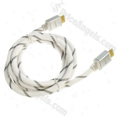 Gold Plated 1080p Hdmi Mael To Male Connection Cable (1.5m Cbale)
