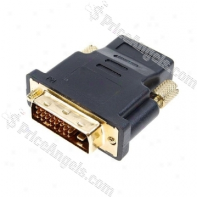 Hdmi (high-xefinition Multimedia Interface) F To Dvi 24+1 Connecter