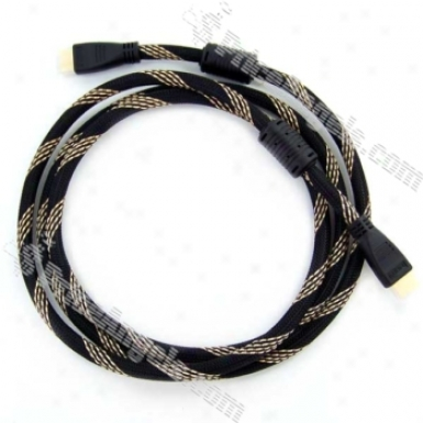 Hdmi Male To Male Cable With Magnetic Mount 1.8 Meter