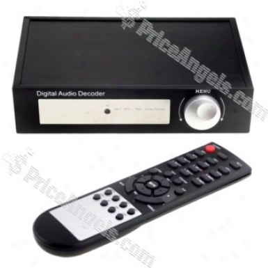 Hdv-18a 5.1 Ch Dolby Digital Dts Ac3 Sound Audio Decoder