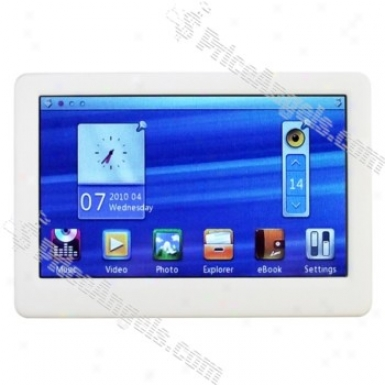 High Clarity 4.3-inch Touch Screen Mp3/mp4/mp5 Player Fm/tv-out Built-in 4gb
