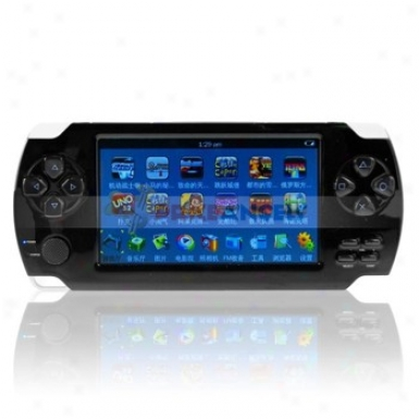 Huyang Xx-8600 4gb 4.3-inch Screen Game Console Style Mp5 Player With Camera
