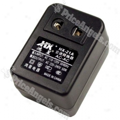 Hx-21a 50w 110v To 220v Ac Power Transformer(us Plug)
