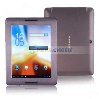 Hyundai S800 Android 4.0.3 Cortex A8 1.2ghz 8-inch Capacitive Tablet Pc With Camera Hdmi(purple)