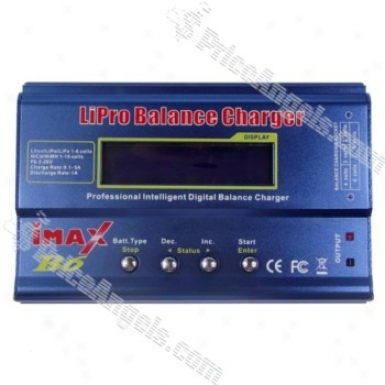 Imad B6 Lcd Digital Li-ion/polymer Batetry Balance Charger-blue