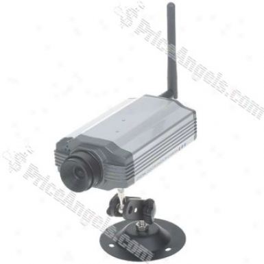 Ip Wireless Wifi/lan 300k Cmos Camera