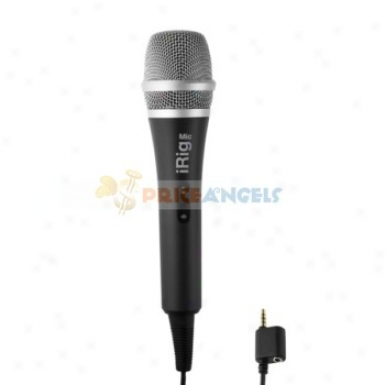 Irig Mic Microphone For Ipof Touch Ipad Iphone 4s
