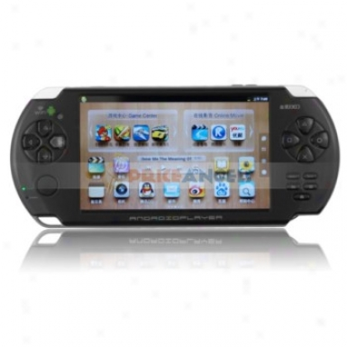 Jxd V5200 4gb Android 2.3.4 Cortex A8 1g Mhz 5-inch Multi Game Tablet Game Console(black)