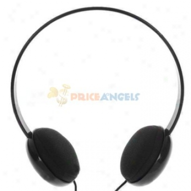 Kanen Km-250 Pc/laptop Stereo Headset With Microphone - Black (3.5mm/1.5m Cable)