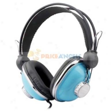 Kanen Km740 Stereo Dj On-ear Headphone Earphone