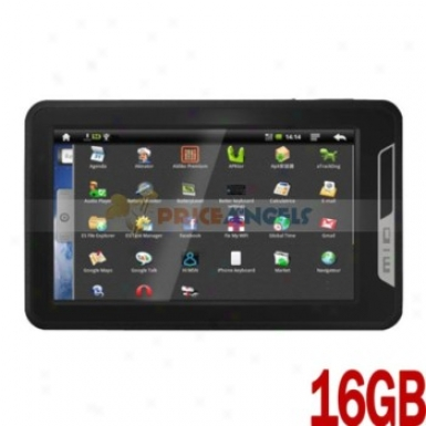 Koyopc Mr21 16gb Android 2.3 Gingerbread 7-inch Capacitive Touch Screen Tablet Pc Laptop With Camera Wifi G-sensor Hdmi