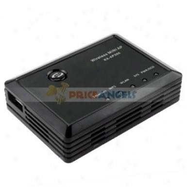 Kx-ap300 802.11n Usb Ethsrnet/wps/wlan/sys/per 300mbps Wireless Mini Ap Router(glack)
