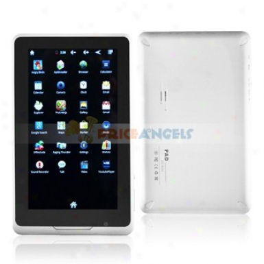 Ly-910 4gb Rockchup2918 1.2gyz Android 2.3 7-inch Capacitive Affect Screen Tablet Pc Laptop With Camera Wifi G-sensor
