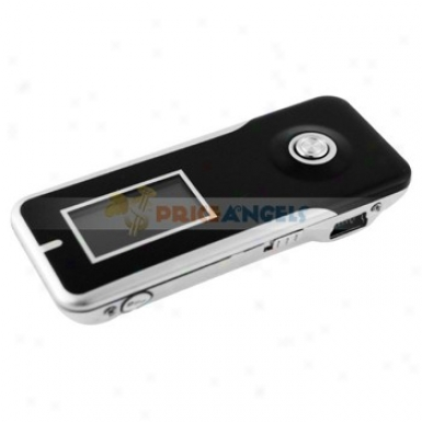 M-310 1.1-inch Lcd Screen Portable 4gb Digital Mp3 Player Music Player With Recording(black)