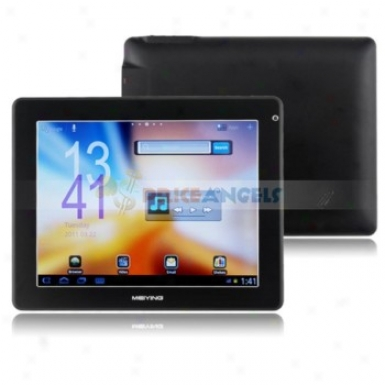 Meiying 8gb Android 2.3 Rk2918 8-inch Capacitive Touch Screen Tablet Pc Laptop With Camera Wifi(black)