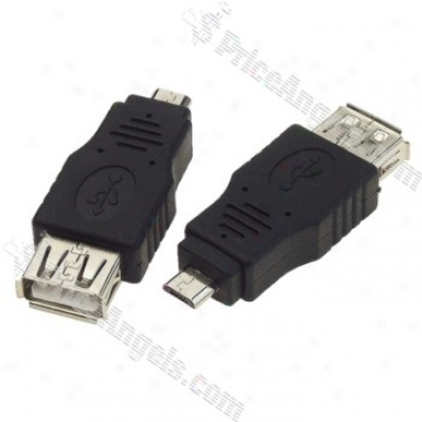 Micro Usb On-the-go Host Otg Adapter(pair)