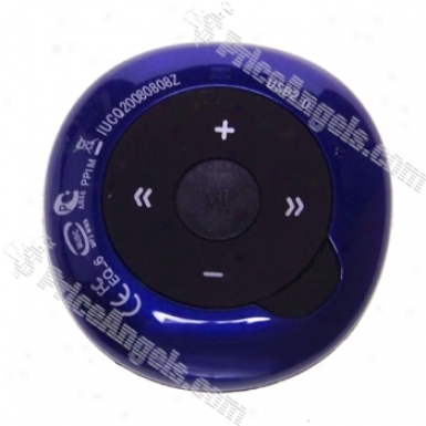 Mini 2gb Usb Flash Drive Mp3 Player (dark Blue)