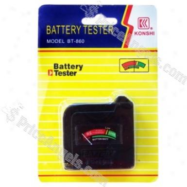 Mini Analog Battery Power Level Tester
