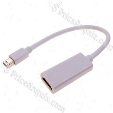 Mini Displayport Dp Male To Hdmi Female Adapter Cable