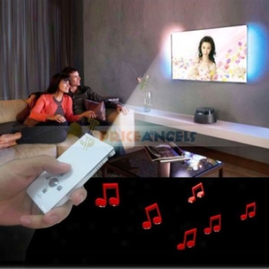 Mini Mulit-media Projector With Tf Card Slot(white)
