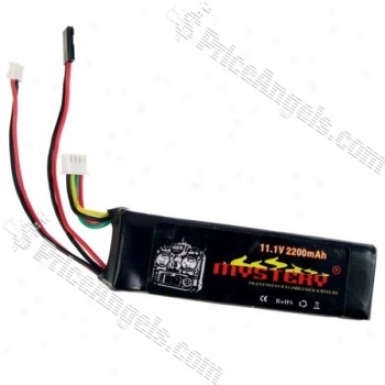 Mystery 11.1v 2200mah Rechargeable Lithium Polymer Battery In quest of Futaba 9-ch Transmitter
