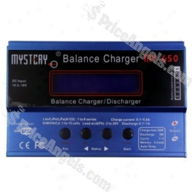 Mystery My-650 Lcd Battery Equalize Charger And Discharger-blue