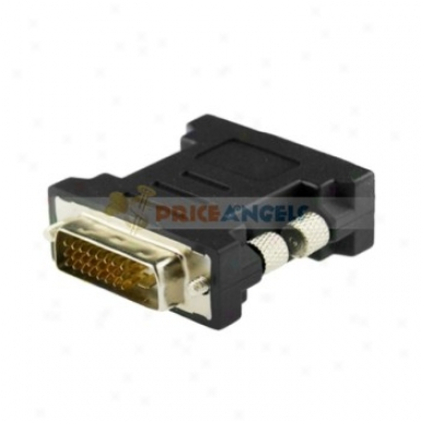 Nickel Dvi24+1 Male To Male Adapter Converer