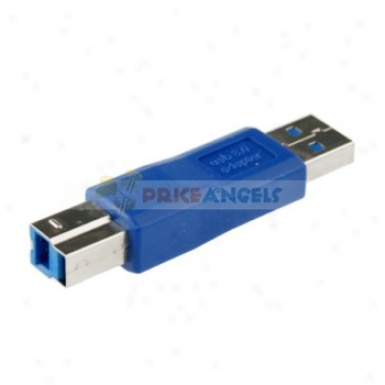 Nickel Plated Usb 3.0 Male To Lpt Afaptdr Converter