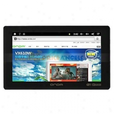 Onda Vx610w 8gb Android 2.3 1.5ghz 7-inch Capacitive Tablet Pc With Camera G-sensor