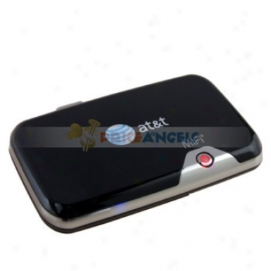 Original At&t Mifi 2372 Wifi/3g Mobile Broadband Wireless Router With Battery/sim Card Sloft/tf Card Slot