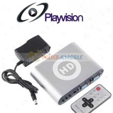 Playvisionn Hd Box Pro Ypbpr To Vga Converter Ypbpr To Vga Converter