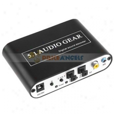 Playvision Hd51-a Dts Digital Audio Decoder Dts/ac-3 Digital Audio Decoder