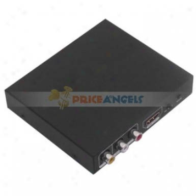 Playvision Hdv-10ii Hdmi To Hdmi/cvbs Converter Hdmi To Cvbs+hdmi Box