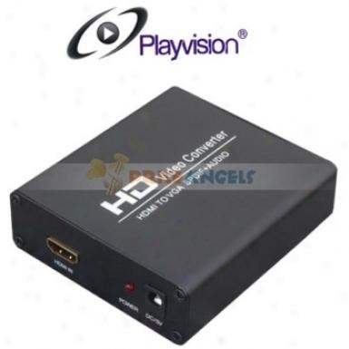 Playvision Hdv 338 Hdmi To Vga+spdif Converter Hdmi To Vga +spdif Converter