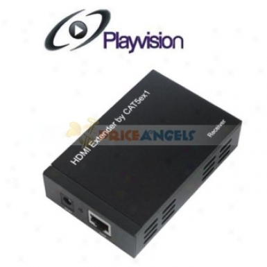 Playvision Hdv-he50 Hdmi Externder Hdmi Over One Cat5e/cat6 Hdmi Extender