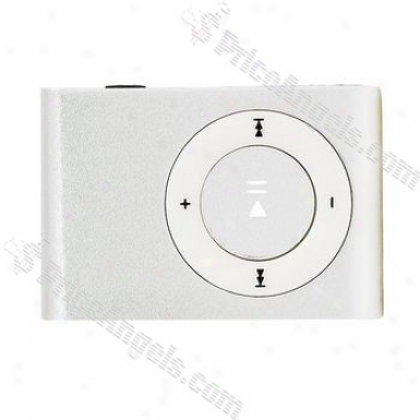 Portable Mini Usb Slim Clip Mp3 Player With Micro Sd / Tf Card Slot - Silver