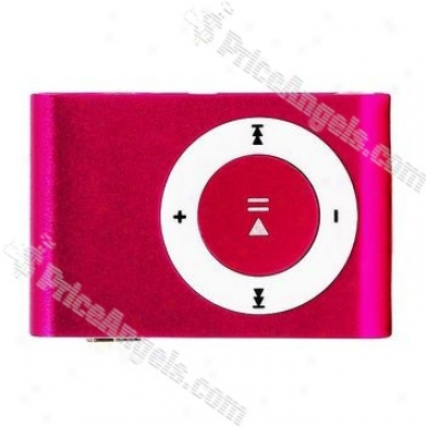 Portabe Mini Usb Slim Clip Mp3 Player With Micro Sd / Tf Card Slot - Minnow