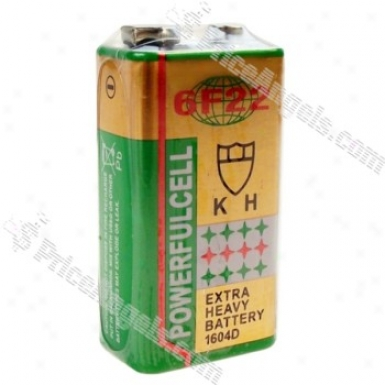 Powerful 6f22 9v Battery (2-pack)
