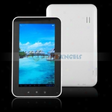 Quanzhi A10 1.5ghz 4gb Android4.0.3 7-inch Capacitive Tablet Pc With Camera/recording (white)