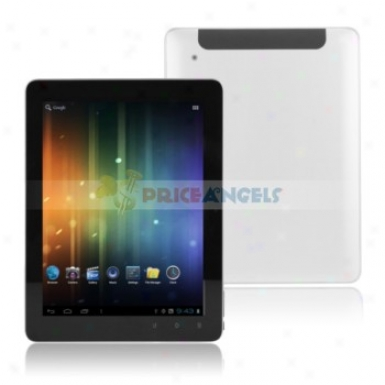 Quanzhi A10 Amdroid4.0.3 1.5ghz 8g 9.7-inch Five Point Capacitive Tablet Pc (silver)